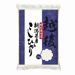 新潟県産特別栽培米こしひかり