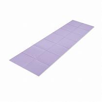折りたたみ式ヨガマット/パープル
