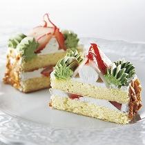 いちごボックスケーキ