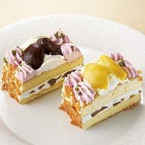 マロンボックスケーキ