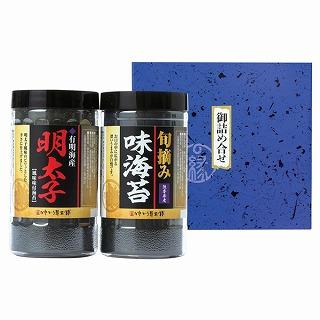 <ゆかり屋本舗>有明海産 明太子風味&味海苔セット
